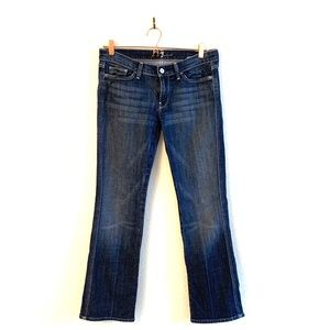 7 for all Mankind Flare Jeans Colette Dark Wash